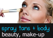 Beauty Services, Spray Tans, Makeup Artist